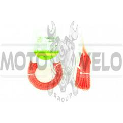 Леска мотокосы Ø2,4mm, 15 метров (косичка, красная) BEST