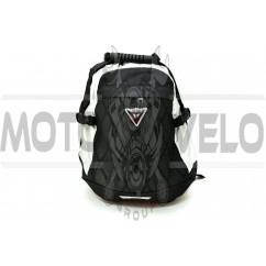Рюкзак (черный, рельеф ромбы)