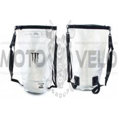 Рюкзак (серебристый, с затяжкой) MONSTER ENERGY
