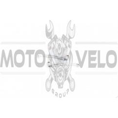 Рычаги руля (голые) Suzuki AD50, LETS (барабан/барабан, хром) MANLE