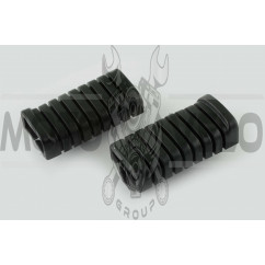 Резинки подножек водителя Delta (черные) MANLE