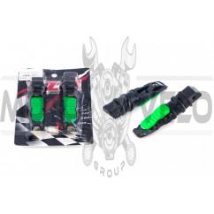 Подножки пассажирские (mod:2) (зеленые) RIDE IT
