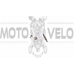 Вал редуктора мотокосы   (+шестерни 7Т)   BEST   (mod.A)