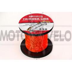 Леска мотокосы   Ø1,6mm, 100 метров   (квадрат, красная)   EVO