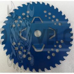 Нож мотокосы   40T   (Ø230/22.4 mm)   (победитовые зубья)   (синий)   SVET