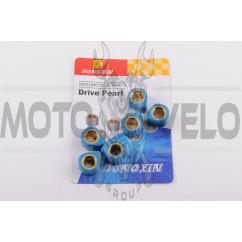 Ролики вариатора (тюнинг) 4T GY6 125/150 18*14 13,5г (голубые) DONGXIN