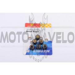 Ролики вариатора Yamaha 15*12 8,5г (синие) DONGXIN