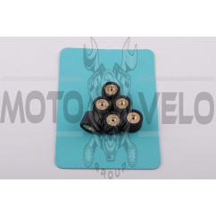 Ролики вариатора Honda 16*13 11,0г (черные) RAINBOW