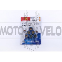 Ролики вариатора 4T GY6 125/150 18*14 13,5г DONGXIN