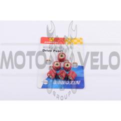 Ролики вариатора Honda 16*13 12,0г (красные) DONGXIN