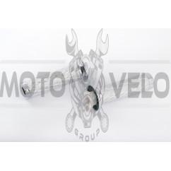 Ручки руля чешуя серебро (mod.912) LDR