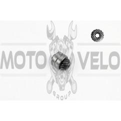 Шестерня редуктора мотокосы 7Т (+подшипник)