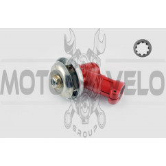 Редуктор мотокосы 9Т (Ø26, красный) (подходит для всех популярных моделей кос)
