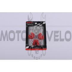 Скользители (слайдеры) 2T Stels 50 (тюнинг, красные) (Тайвань) KOSO