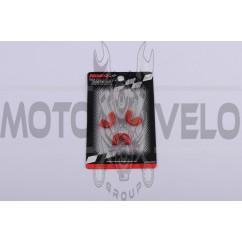 Скользители (слайдеры) Suzuki AD50 (тюнинг, красные) (Тайвань) KOSO