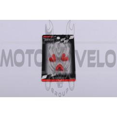 Скользители (слайдеры) Honda DIO AF27 (тюнинг, красные) (Тайвань) KOSO