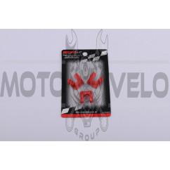 Скользители (слайдеры) Yamaha BWS (тюнинг, красные) (Тайвань) KOSO