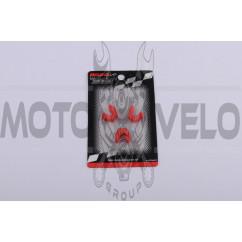 Скользители (слайдеры) 4T GY6 125 (тюнинг, красные) (Тайвань) KOSO