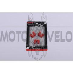 Скользители (слайдеры) Yamaha JOG 50 (тюнинг, красные) (Тайвань) KOSO