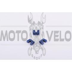 Скользители (слайдеры) Yamaha JOG 90 (тюнинг, синие)