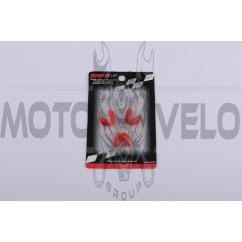 Скользители (слайдеры) Honda LEAD 90 (тюнинг, красный) (Тайвань) KOSO
