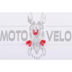 Скользители (слайдеры) Honda LEAD 90 (тюнинг. красные)