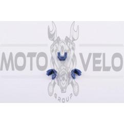 Скользители (слайдеры) Honda LEAD 90 (тюнинг. синие)
