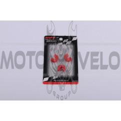 Скользители (слайдеры) Suzuki LETS (тюнинг, красный) (Тайвань) KOSO