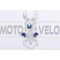 Скользители (слайдеры) Suzuki LETS (тюнинг, синие)