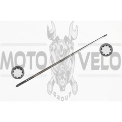 Штанга мотокосы 9x9T d-8mm