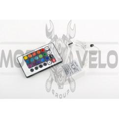 RGB-контроллер (ИК ПДУ, 24 кнопки)