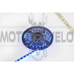 Лента светодиодная SMD 5050 (синяя, влагостойкая, 60 крист/1м, бухта 5м)