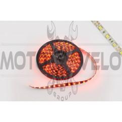 Лента светодиодная SMD 5050 (красная, влагостойкая, 30 крист/1м, бухта 5м)