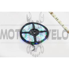 Лента светодиодная SMD 5050 (RGB, влагостойкая, 30 крист/1м, бухта 5м)