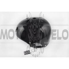 Шлем райдера (size:L, черный) (США) S-ONE
