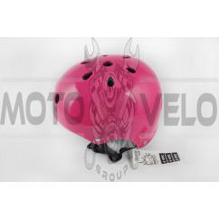 Шлем райдера (size:M, малиновый) (США) S-ONE