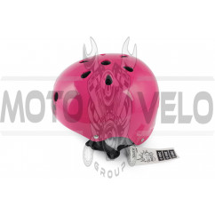 Шлем райдера (size:L, малиновый) (США) S-ONE