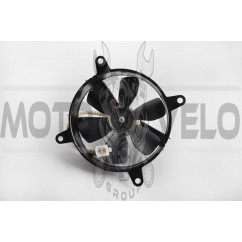 Вентилятор радиатора 4T CH250 (в сборе с кожухом) KOMATCU (mod:A)