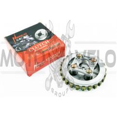 Диски сцепления 4T KTT125 (диски, пружины, столик) HONGJU