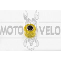 Сайлентблок амортизатора силиконовый d-12mm (желтый) KTO