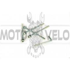 Шпильки цилиндра (4шт) Honda DIO (106x6mm +ключ шестигранник) SHUK