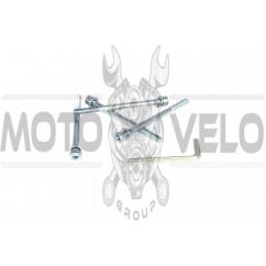 Шпильки цилиндра (4шт) 4T GY6 50 SHUK (96x6mm +ключ шестигранник)