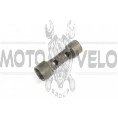 Ключ свечной 16/18 мм (2T/4T, двухсторонний) KOMATCU
