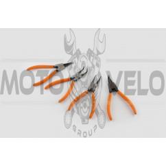 Съемник для стопорных колец MOZBA (набор 4шт)