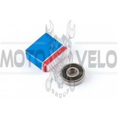 Подшипник 6201-2RS 12*32*10 (пер. колесо QT50, ред-р Honda, Suzuki, GY6 50) SK