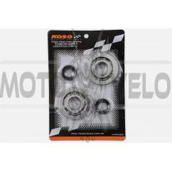 Подшипники коленвала (пара) Honda DIO AF18/27 (+сальники) KOSO