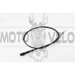 Трос спидометра Honda DIO ZX AF28 (диск) (с защелкой, уп.1шт) KOMATCU