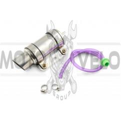 Система отвода картерных газов (стайлинг) 190*80mm (хром) 118