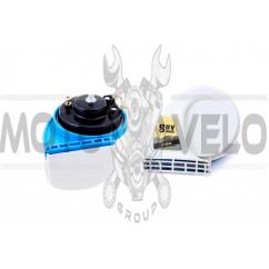 Сигнал (улитка) электрический двухтональный (белый) (пара) SUV