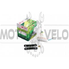 Сигнал (улитка) электрический двухтональный (белый) SUV